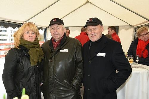 Bezirksstadträtin J Witt-AR-Vorsitzender A Wegeleben-Vorstand JP Schulz