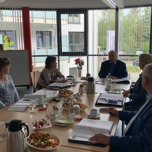 Gemeinsame Sitzung AR und Vorstand im Mietertreff