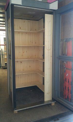 Bücherbox Roh